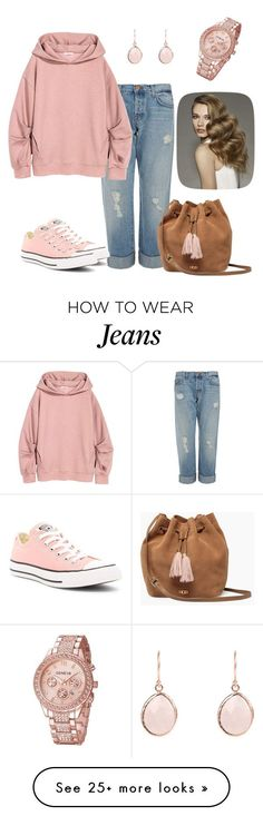 Untitled #543 by sylvia-tall on Polyvore featuring J Brand, Converse and UGG