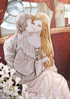Anime Couple Kiss, Manga Couple, Romantic Anime Couples, Cute Anime Couples, Anime Couples Manga, Anime Cupples, Chica Anime Manga, L Dk Manga, Anime Love Story