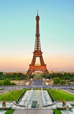 The Eiffel Tower is 1,063ft tall and was the world's tallest man-made structure for 41 years. The tower was made of 18,038 pieces joined by two-and-a-half million rivets.