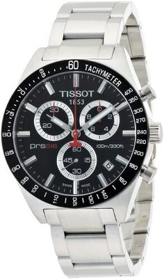Men's Wrist Watches - Tissot Mens T0444172105100 PRS 516 Black Chronograph Dial Watch *** Check this awesome product by going to the link at the image. (This is an Amazon affiliate link)