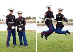 :D PFC Jones and Pvt Jones will have to do this next time they can lol XD I love my Marine and his best friend !! :D