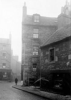 This photograph was taken in August The photographer is standing in Smalls Wynd and is looking towards its junction with Hawkhill. Hunter Street is shown in the distance. The building which is seen here on the right is 2 Smalls Wynd. Grandparents Rights, Hunter Street, Dundee City, Blue Mountain, Great Britain, Scotland, Family History, Photograph, Building