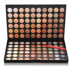 Collection The Most Unique You! Makeup now! - Banggood  120 colores Paleta Sombra de Ojos estuche de maquillaje de ojos conjunto