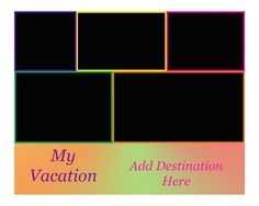 INSTANT DOWNLOAD  My Vacation  Holiday Getaway  by WillieBees