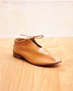 Bootie in Tan By Martiniano- it's not even funny how much i love these.