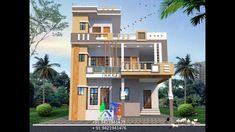 Village House Design, Bungalow House Design, Village Houses, Modern Small House Design, 3d Home Design, Modern Design, Front Elevation Designs, House Elevation, Pakistan