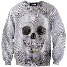☮♡ Diamond Skull Sweater ✞☆