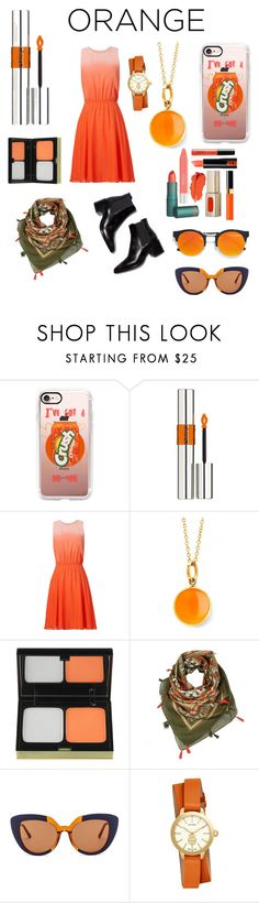 """""""Your Fanta'stick"""" by baileyannfreeman ❤ liked on Polyvore featuring beauty, Casetify, Yves Saint Laurent, ERIN Erin Fetherston, Syna, Kevyn Aucoin, Marni, Tory Burch and LULUS"""