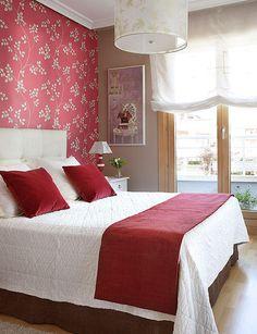 13 beste afbeeldingen van Rode slaapkamers - Bedrooms, Home decor en ...