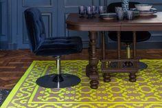 Tapis Pia Casa Lopez, six couleurs, deux tailles, casalopez.com