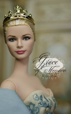 Grace Kelly Barbie a little re-styled! Beautiful!