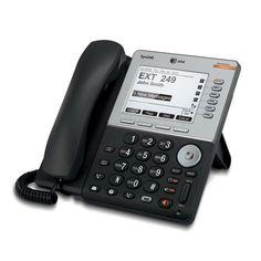 ATT-SB35031 Syn248 Feature Desk Phone, Dual Ethernet ports, Caller ID displ. Blk #ATT