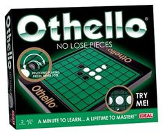 Ideal John Adams Othello No Lose Pieces Craft Kit Old School Board Games, School Games, John Adams, Super Glue, Childhood Toys, Childhood Memories, Othello Game, Lost, Strategy Games