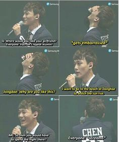 Awww<3 Jongdae!