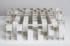 Sol LeWitt, All Three-Part Variations of Three Different Kind of Cubes, 1968