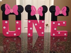 Hey, I found this really awesome Etsy listing at https://www.etsy.com/listing/252357982/minnie-mouse-custom-name-letters