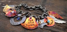 Teacher's gift - personalized bracelet.  Could add teacher's name, school name, year, and other personalized messages