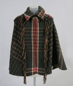 Made in United States, North and Central America  Date: c. 1900  Medium: Wool tartan