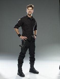 Joe Flanigan. Born January 5, 1967 in Los Angeles, California (as Joseph Harold Dunnigan III).Actor and writer, best known for Stargate: Atlantis (2004).