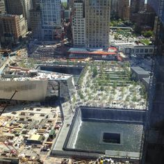9/11 Memorial-went today with Jeff and Alden 06/06/12