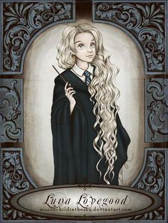 Luna Lovegood fan art: