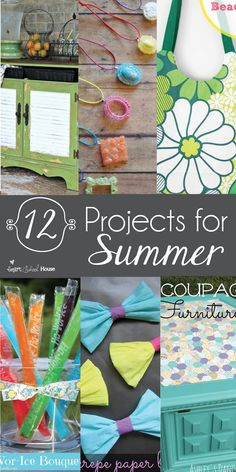 12 DIY Projects for Summer
