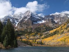 Colorado's Maroon Bells -- two sister 14er peaks -- are the most photographed of the state's mountains.