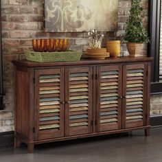 Signature Designs by Ashley Mestler Dark Brown Dining Room Server
