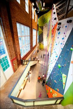 Climb So iLL at the Powerplant, St. Louis I want to go here in the next year to climb