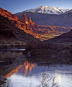 "Moab - ""When your spirit cries for peace, come to an old world of canyons deep..."""