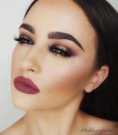 """""""Yesterday's glam! ✨brows #anastasiabeverlyhills dipbrow in taupe and medium brown ✨eyeshadows #colourpop on the rocks, bandit, mixed taupe & a plain black…"""""""
