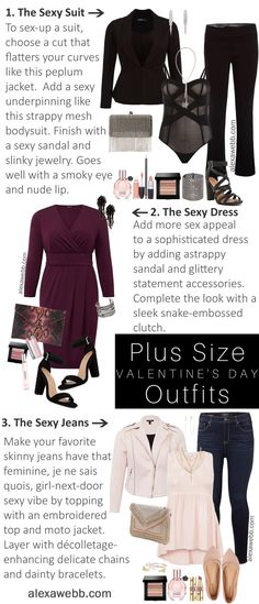 Plus Size Valentine s Date Night Outfit Ideas cbf5ac2453975