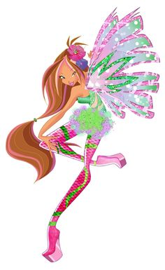 Winx club flora sirenix