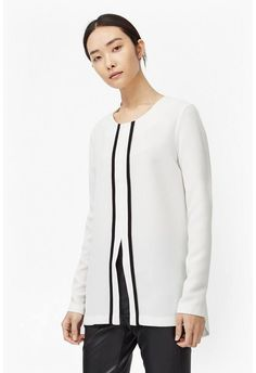Thomas Block Long Sleeve Top Long Sleeve Tops, Long Sleeve Shirts, Occasion Wear, Top Sales, Casual Tops, Mens Fashion, Boutique, Clothes For Women, Model