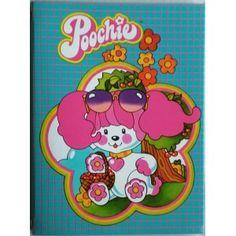 poochie | www.Oldtoys-on-line.com - Poochie copertina quaderno ad anelli