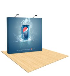 Business Victory can be gained by booth display, acquired with Pop Up Display.