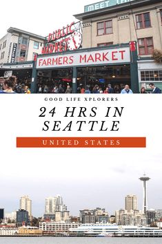 If you are visiting the Washington State then you must spend a day in Seattle. An eclectic city with vibrant neighborhoods it's home to tech giants and famous artists. A great place to spend 24 hrs. Travel Tips Tr Usa Travel Guide, Travel Usa, Travel Guides, Travel Tips, Quick Travel, Oregon Travel, Cruise Travel, Canada Travel, California Travel