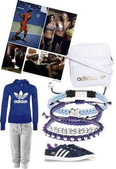 """""""Afy's gym wear by Adidas @ Afy's boutique"""" by afyabdullah ❤ liked on Polyvore"""