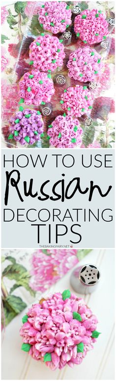 russian decorating tips 101 The Baking Fairy Frosting Techniques, Frosting Tips, Cupcake Frosting, Cake Icing, Frosting Recipes, Eat Cake, Cupcake Cakes, Buttercream Frosting, Fondant Cakes