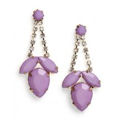 Crystal Color Earrings Trend | The Zoe Report