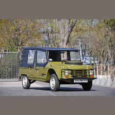 4,700kms from new  1980 Citroën Méhari 4x4  Chassis no. 00CE0519  Almost certainly inspired by BMC's Mini Moke, the Citroën Méhari first appeared in prototype form in 1967 and like its British counterpart was based on a standard production car. In the Citroën's case it was the Dyane 6 version of the inimitable 2CV so the Méhari featured the latter's torsion-bar suspension and air-cooled 602cc twin-cylinder engine driving the front wheels. The open body was made of ABS plastic and, like the…