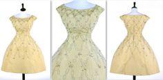 1955 Dior cocktail dress