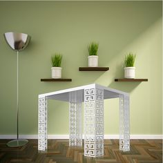 Luxury Style - DIY Table Legs – Ikea Hacks - www.designertablelegs.com
