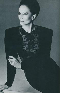 Comtesse Jacqueline de Ribes -  designer nternational socialite, French