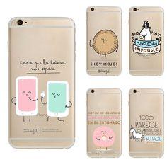 Mr wunderbare serie cartoon unicorn transparent case für iphone 6 case weiche tpu kratzfeste abdeckung für iphone 6 s 7 7 plus case