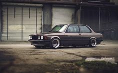 Lataa kuva tuning, BMW 3-sarja, E21, viritys, e21, BMW
