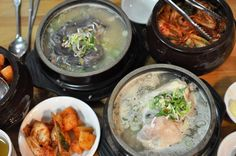 Tosokchon Samgyetang restaurant in Seoul review by JenCooksKorean ginseng chicken soup 토속촌, 삼계탕