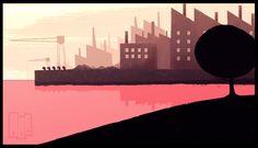 #ILUSTRACION #ANIMACION #2D - Ilustración de Birdboy corto ganador de un Goya de la mano de KHRIS CEMBE. Su nuevo corto 'VIAJE A PIES' es un cortometraje de animación 2D dirigido por Khris Cembe. Comedia negra co-escrita junto a su compañera de viaje Laura Aguado, una propuesta que aúna un brillante grafismo con elementos reconocibles del género de suspense. ¿Quieres unirte a este viaje?.  +INFO: http://khriscembe.tumblr.com  CAMPAÑA verkami www.verkami.com/projects/3220