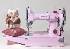 Sewing Machine PINK /// {Pink & Pink: for Sony Vaio E Series notebooks : www.sony.com.au } #sonyvaio