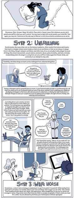 Is social anxiety getting in the way of trying to enjoy your life? This comic has some great coping strategies that might be useful. Do you have any more tips to add?